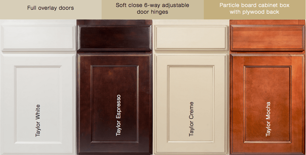 value series cabinets